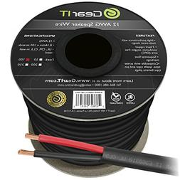 12 AWG CL3 OFC Outdoor Speaker Wire, GearIT Pro Series 12 Ga