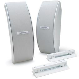 151 se outdoor environmental speakers white