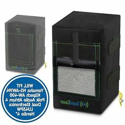 2 Black Small Outdoor Speaker Covers fit Yamaha NS-AW194 & P