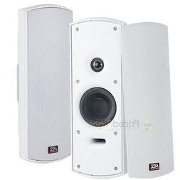 "2 Pack 4"" Home Indoor Outdoor Speakers Multi Purpose Weather"