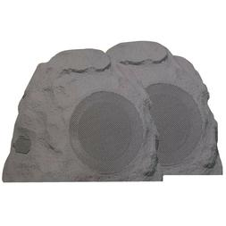 Sylvania 2 pack Wireless Bluetooth Outdoor Rock Speaker IPX5