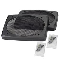 2 speaker grill cover grills