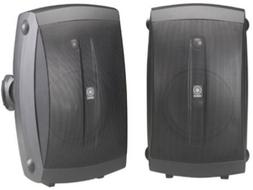 Yamaha 2-Way Speakers, Woofer Audio Stereo Indoor/Outdoor Wa