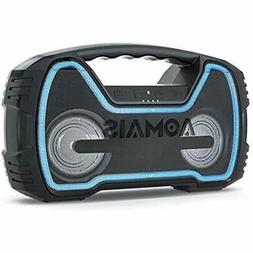 """25W Portable Bluetooth Speakers With HD Stereo Sound """" Deep"""