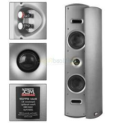 "4"" Home Theater Speaker Outdoor Indoor Multi Purpose Wall Mo"