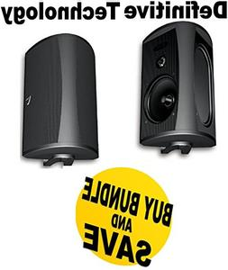 Definitive Technology AW 6500 Outdoor Speakers  - Black Bund
