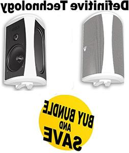 Definitive Technology AW6500 200 W RMS Speakers - 3-way - Wh