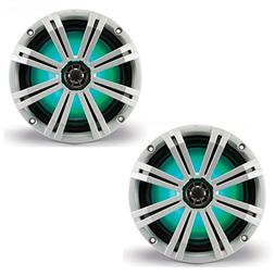 "Kicker - Km 8"" 2-way Coaxial Marine Speakers With Injection-"