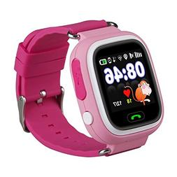 Kids Smart Watch Phone, GPS Tracker Smart Wrist Watch with S