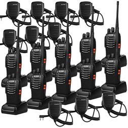 Retevis H-777 Walkie Talkie 16CH UHF 2 Way Radio Handheld Tw