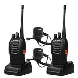 Retevis H-777 Walkie Talkies UHF Radio 16CH Single Band Flas