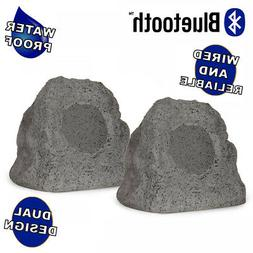 Theater Solutions RK4GBT Powered Bluetooth Outdoor Granite G