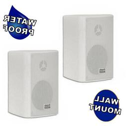 Acoustic Audio AA351W Indoor Outdoor 2 Way Speakers 500 Watt