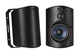 Polk Audio Atrium 5 BLACK Indoor & Outdoor Speakers BRAND NE