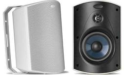 Polk Audio Atrium 5 WHITE Indoor & Outdoor Speakers  NEW PAI