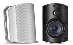 POLK AUDIO ATRIUM 6 INDOOR/OUTDOOR SPEAKERS IN WHITE BRAND N