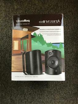 audio atrium 8 sdi black outdoor speaker