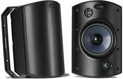 Polk Audio Atrium 8 SDI Speakers BLACK One Pair  Brand New