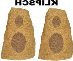 Klipsch AWR-650-SM Sandstone Outdoor Rock Speakers
