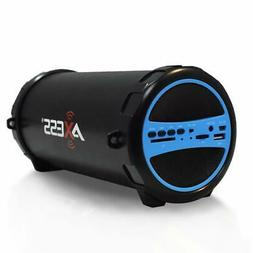 Axess Bluetooth Indoor/Outdoor Cylinder Speaker SD Card USB
