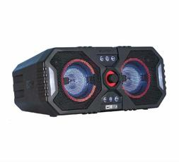bluetooth speaker stereo system wireless big blue