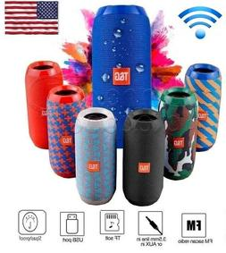 Bluetooth Speaker Wireless Waterproof Outdoor Stereo Bass US
