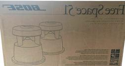 Bose Free Space 51 Outdoor Speakers. Brand NEW, SEALED