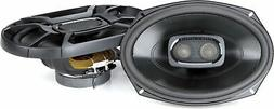 Polk 6x9 Inch 450W 3-Way Car Marine ATV Coaxial Speakers - D