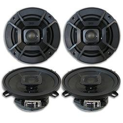 "4 x Polk Audio 5.25"" 2-Way Car Audio Boat Marine ATV UTV Aud"