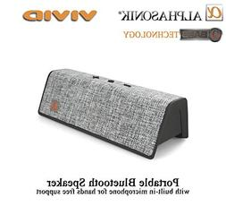 Alphasonik VIVID Home Wireless Bluetooth Portable Speaker wi