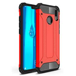 ANGELLA-M Compatible with Huawei Y9 2019 Case, Rugged Hybrid