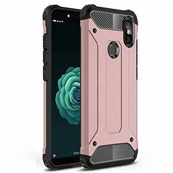 ANGELLA-M Compatible with Xiaomi Mi A2 Case - Rugged Hybrid