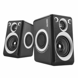 Computer Speakers with Surround Sound 2.0CH USB Wired Powere