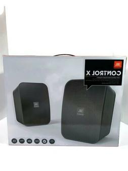 JBL CONTROL X Indoor / Outdoor 100 W Speaker System Black