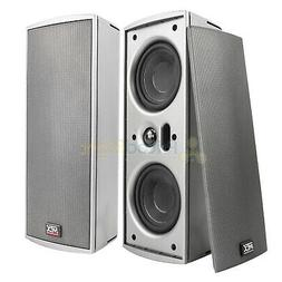 dual 4 surface mount multi purpose speakers