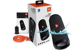 JBL Flip 4 Splashproof Portable Bluetooth Speaker, Black - w