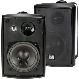 Indoor Outdoor Speakers 3-Way 100Watt Weather Resistant Home
