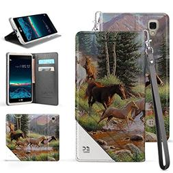 Infolio C Wallet Case For LG Tribute HD, LS676, X Style, Vol
