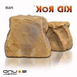 KiD RoK Outdoor Rock Speaker Canyon Sandstone by Sound Appea