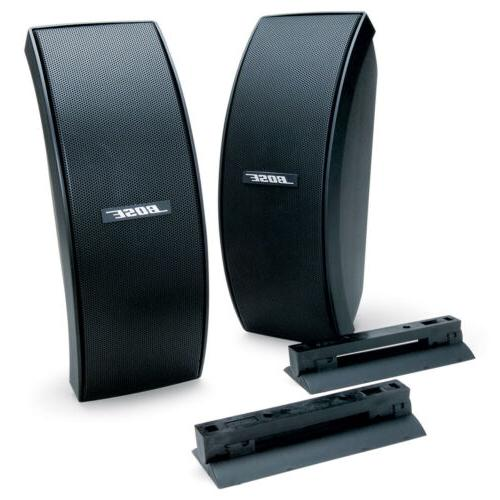 151 se environmental speakers black pair