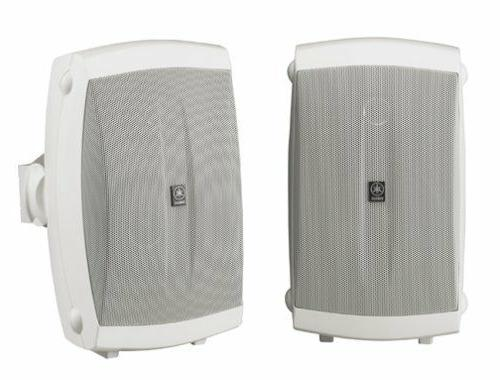 Yamaha 2-Way Indoor/Outdoor Pair, White, NS-AW150W, Audio