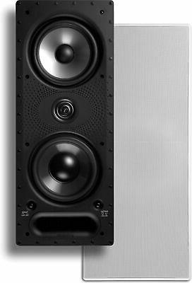 Polk Audio 265-Ls White Rectangular High Performance In-Wall
