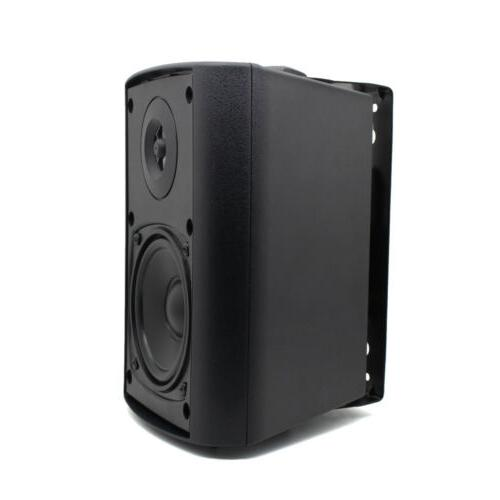 "Herdio 4"" Bluetooth Speakers Waterproof Wall Mount Speakers"