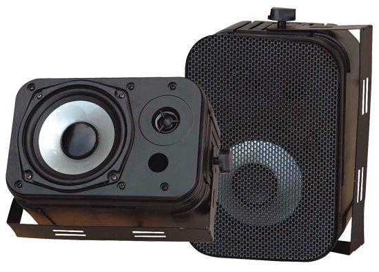 "Pyle Home Audio PDWR40B New 5.25"" Indoor Outdoor Waterproof"
