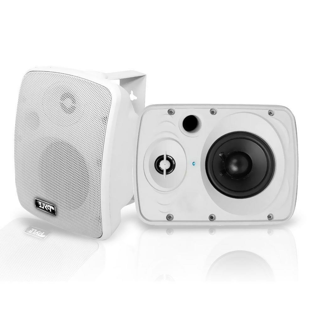 "Pyle - Waterproof Bluetooth 5.25"" Indoor Outdoor System,"
