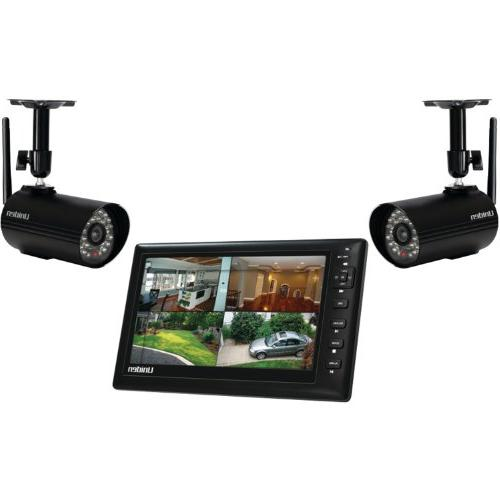 Uniden UDS655 7-Inch Video Surveillance with 2 Outdoor Camer