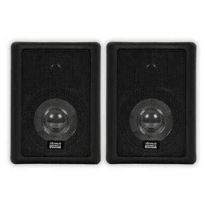 Acoustic Audio 151B Indoor Outdoor 2 Way Speakers 600 Watt B