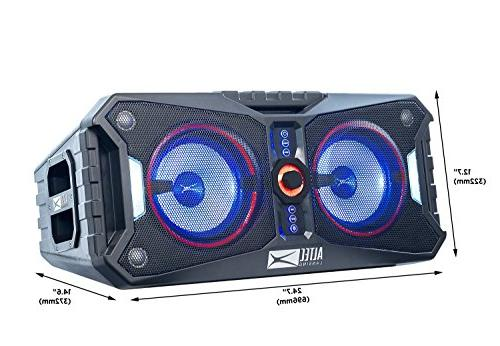 Altec Lansing Xpedition 8 Portable Bluetooth Indoor or Light Pairing, Everything