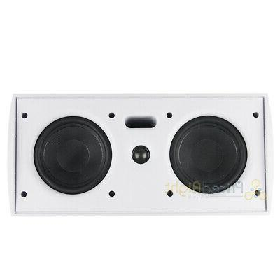 """MTX of Dual 5"""" Outdoor Speakers White"""