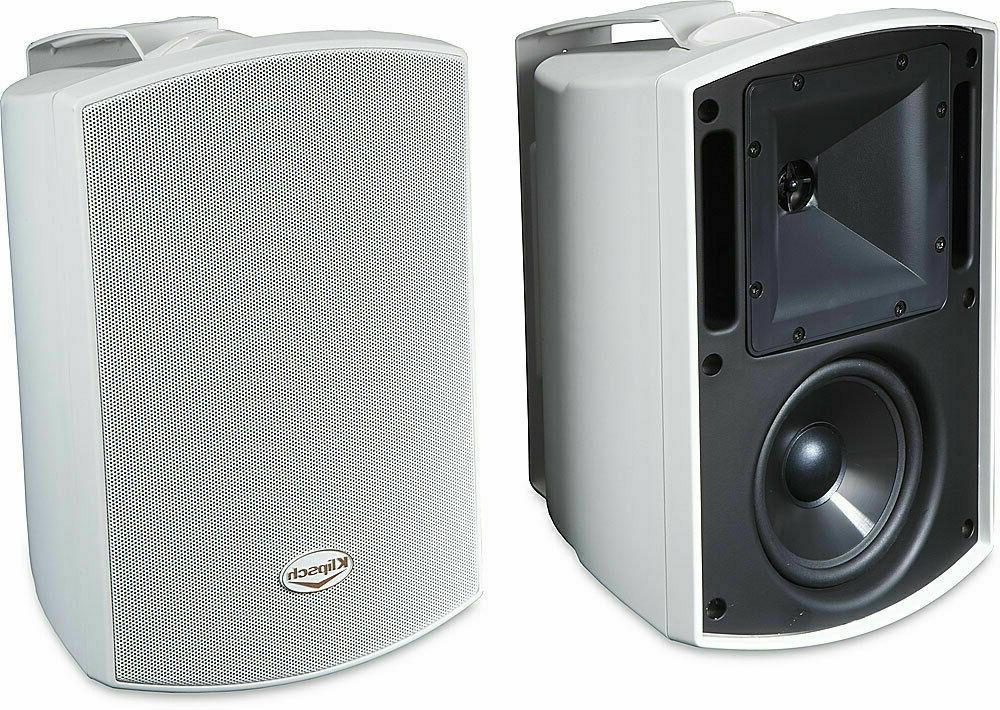 aw 525 outdoor speakers white